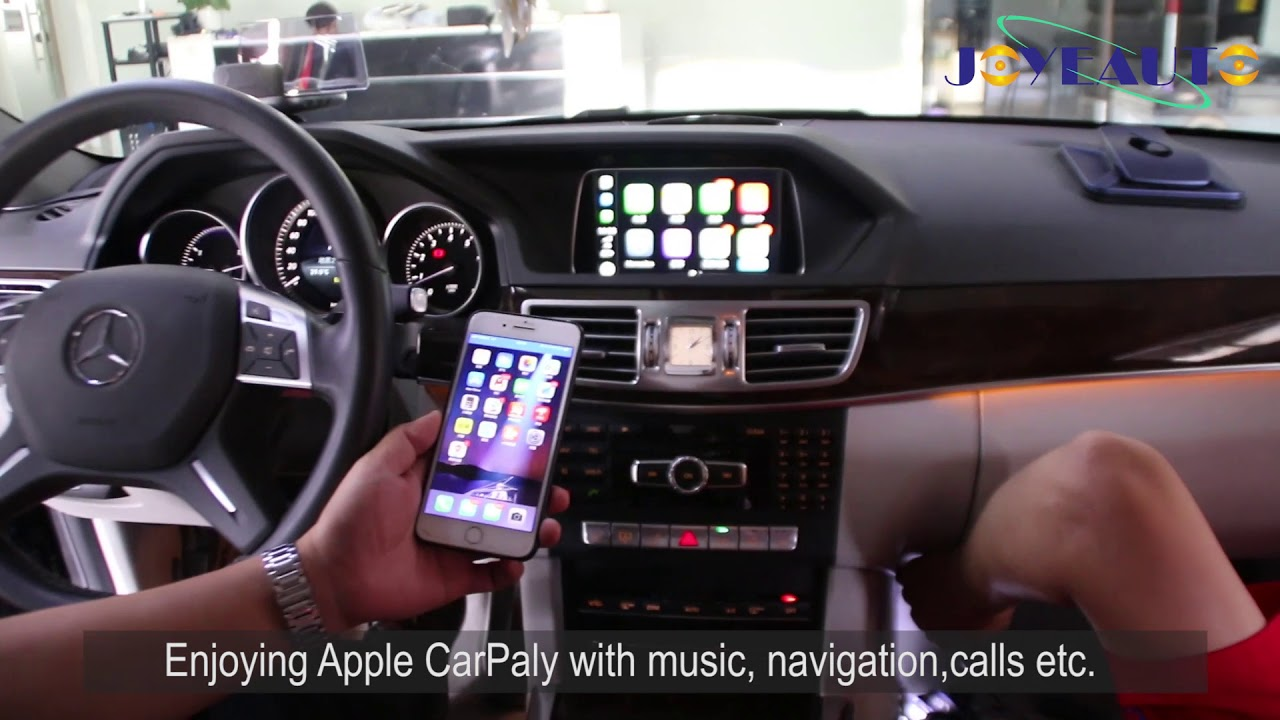 WiFi Wireless Apple CarPlay Retrofit for Mercedes E260 W212 NTG4 5