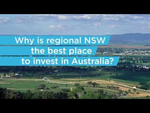 Why regional NSW is the best regional area in Australia to invest.