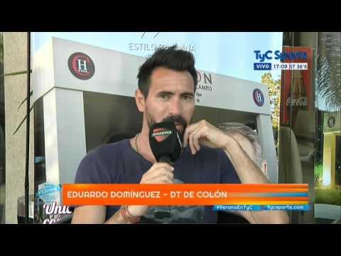 """Eduardo Domínguez: """"Queremos ser protagonistas"""" - TyC Sports"""
