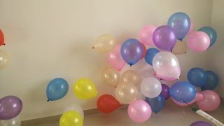 Balloon Pop Show - Crazy Way To Pop Balloon For Kids