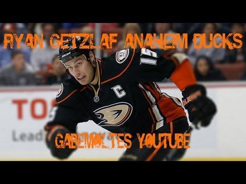 Ryan Getzlaf #15 Anaheim Ducks (Black Blade)