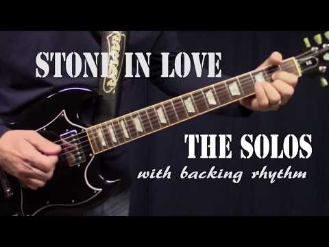 Journey - Stone In Love - ALL LEAD GUITAR SOLOS