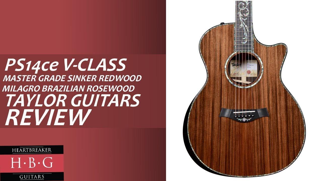 Taylor Guitars - PS14ce with V-Class Bracing Brazilian Rosewood