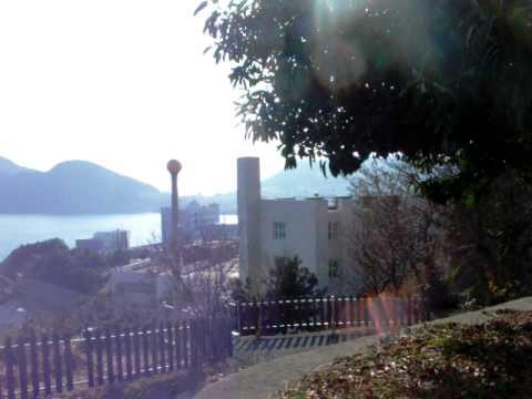 Korea Maritime University , View around my dormitory