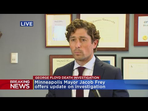Minneapolis Mayor Frey To County Attorney: Charge Arresting Officer In George Floyd's Death