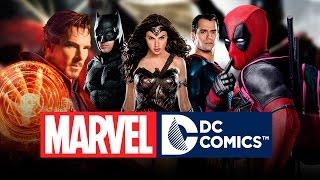 Películas de Marvel y DC - 2016-2020 - HD