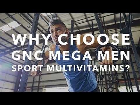 Why Choose GNC Mega Men Sport Multivitamins?