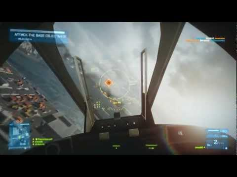 Battlefield 3 Online Gameplay - JackFrags - Multiplayer #9 - Kharg Island Madness - Apache, Tank, Jets