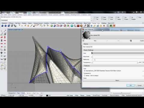 126 - Rhino - Phillips Pavilion Analysis Drawing Render Setup 05