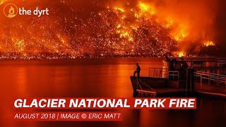 [UPDATE] Glacier National Park Fire - August 2018 - 1080p