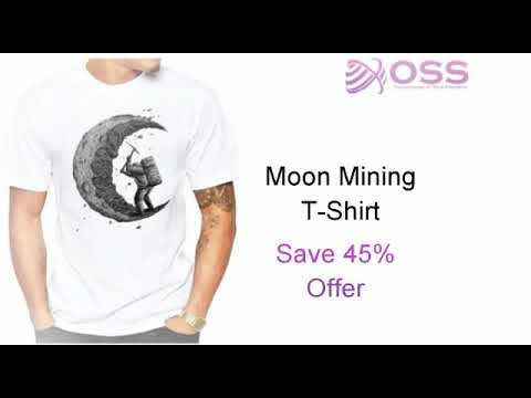 Inspiring Space Themed T-Shirts | Best Gifts For Space Lovers | Online Space Stuffs