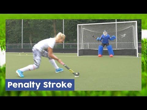 Taking & Defending A Penalty Stroke - Field Hockey Technique | Hockey Heroes TV