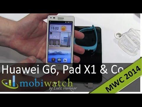 Review: Huawei G6 alias Ascend P7 mini, Media Pad X1, Talk Band
