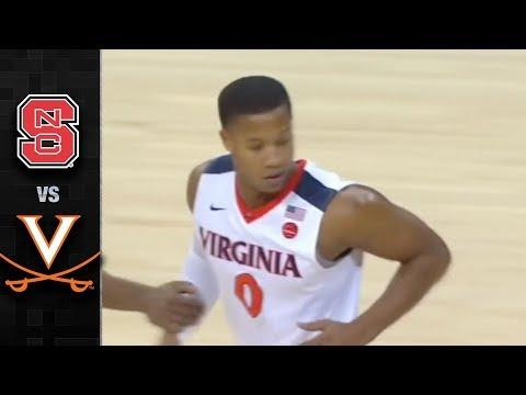 NC State vs. Virginia Basketball Highlights (2017-18)