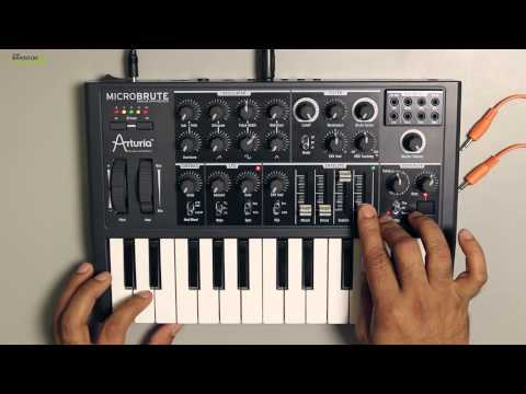 How to make Bass Sounds using Arturia MicroBrute
