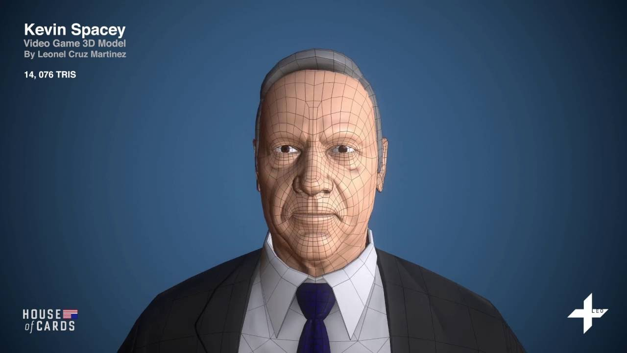 Kevin Spacey 3d Model