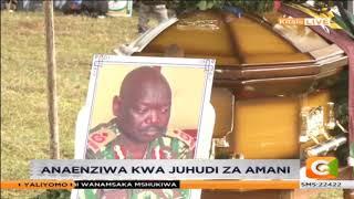 Kamishna wa polisi Robinson Ndiema azikwa