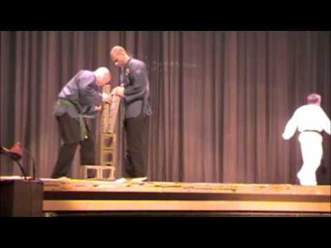 5th Dan Taekwondo Breaking Presentation from Cobourg Tae Kwon Do