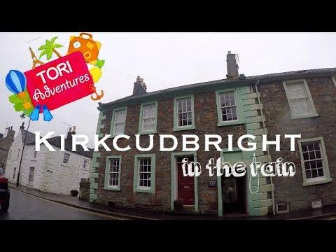 Kirkcudbright Scotland Winter Trip