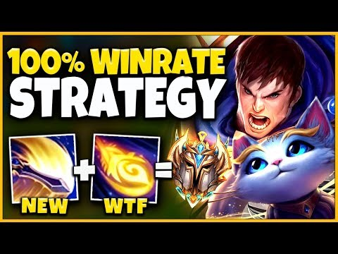 *INSANELY OP* THIS BOOSTING STRATEGY BROKE KR + EUW CHALLENGER (15 MIN VICTORY) - League Of Legends