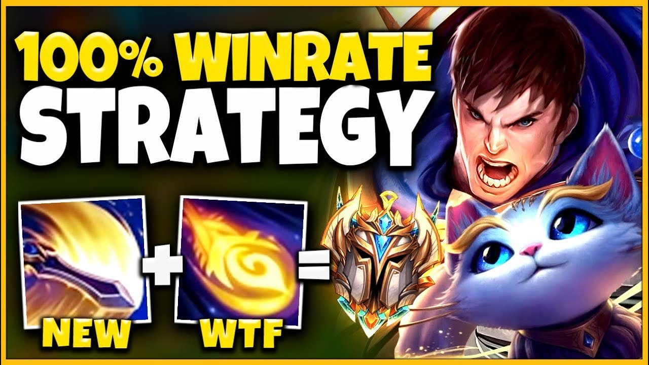 *THIS BROKE KR RANKED* ALL PROS ARE ABUSING THIS (FREE WIN STRATEGY) - League of Legends