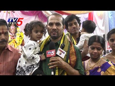 Vinayaka Chavithi Celebrations in Jersey City | New Jersey | USA | TV5 News