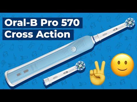 Обзор на Oral-B Pro 570 Cross Action