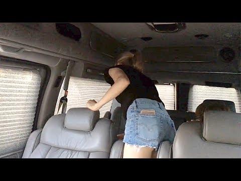 Реакция ЖЕНЫ На Автобус Chevy Express AWD. Первый Раз В Автобусе