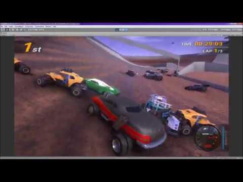 Offroad 2089: THE STADIUM (50 car race)  