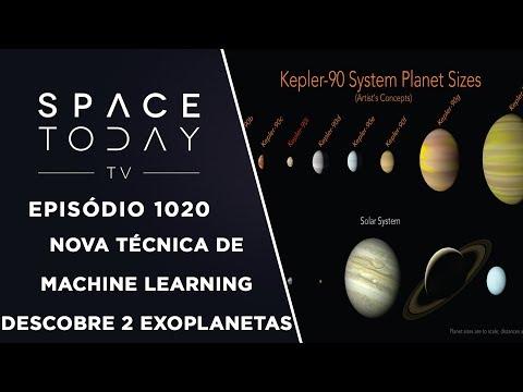 Nova Técnica de Machine Learning Descobre 2 Exoplanetas - Space Today TV Ep.1020