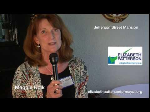 Maggie Kolk is voting for Elizabeth Patterson 2016
