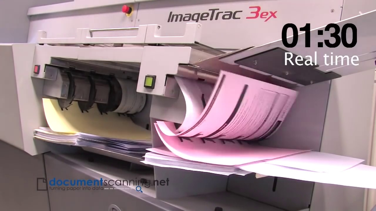 document scanning at speed youtube With document imaging equipment