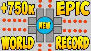 Diep.io | +750 000 | NEW WORLD RECORD (МИРОВОЙ РЕКОРД DIEP)