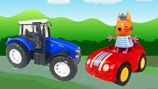 Мультик про Синий Трактор для Детей- Приключение в Болоте - Видео про Машинки 2019