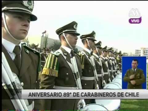 Ceremonia Oficial 89° aniversario de Carabineros de Chile