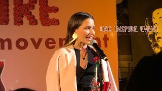 [EVENT] Sophia Bush speaking at USC Inspire Event