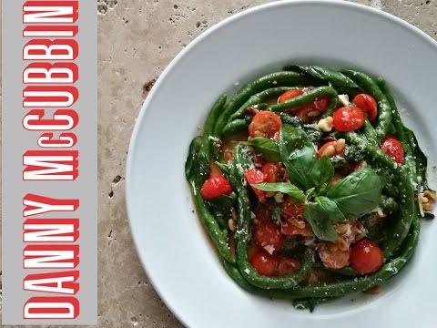 Jamie's Spinach Pici Pasta
