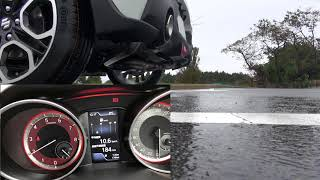SwiftSports ZC33S Exhaust note 排気音 メーターあり