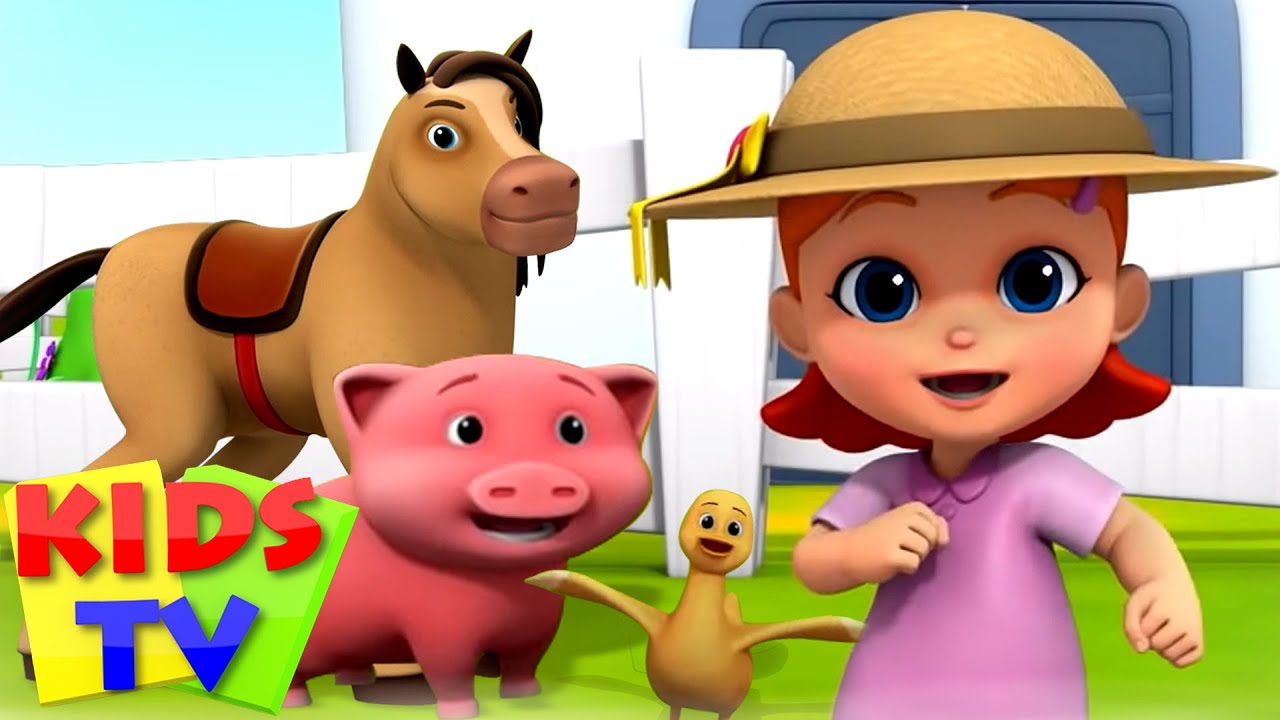Mcdonalds tua punya peternakan | Bayi Sajak | Puisi untuk anak-anak | Kids Tv Indonesia | Animasi