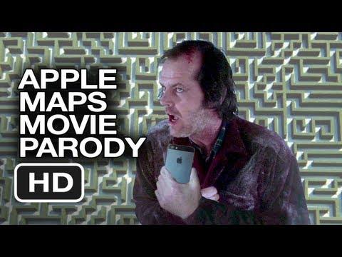 Apple Maps The Shining Parody Movie HD