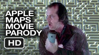 Apple Maps The Shining Parody Movie HD