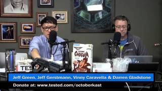 OCTOBERKAST 2013 - Part 8 - Jeff Gerstmann, Jeff Green, Vinny Caravella, Darren Gladstone