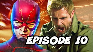 Legends of Tomorrow Season 3 Episode 10 Constantine - TOP 10 WTF and Easter Eggs