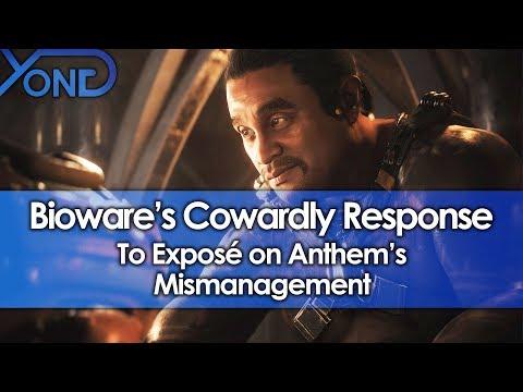 Bioware's Cowardly Response to Exposé on Anthem's Mismanagement