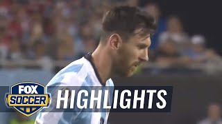 Messi's curling free kick finds the top corner to make it 3-0 | 2016 copa america highlights