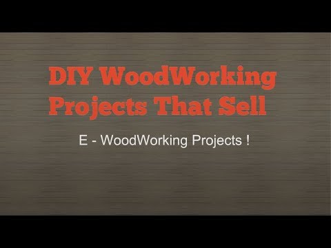DIY Woodworking Projects That Sell