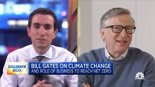 Bill Gates on tнe risks of climate change and corporate responsibility
