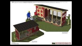 Ms101 - Chicken Coop Plans Construction - Chicken Coop Design - How To Build A Chicken Coop