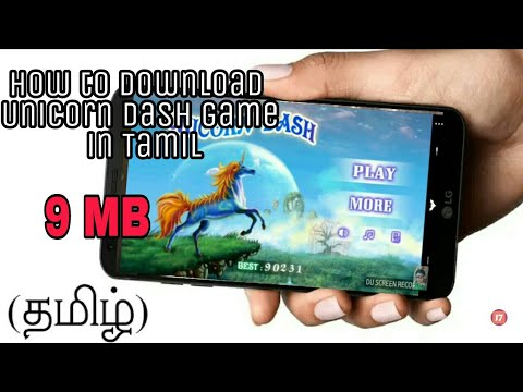 Unicorn Dash  Game How To Download In Tamil