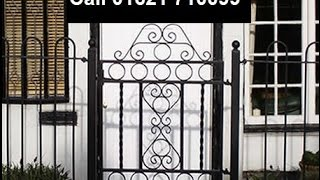 Buy Fencing Online From The Supplier Scrollcraft Of Essex Uk Best Wrought Iron Fence Maker
